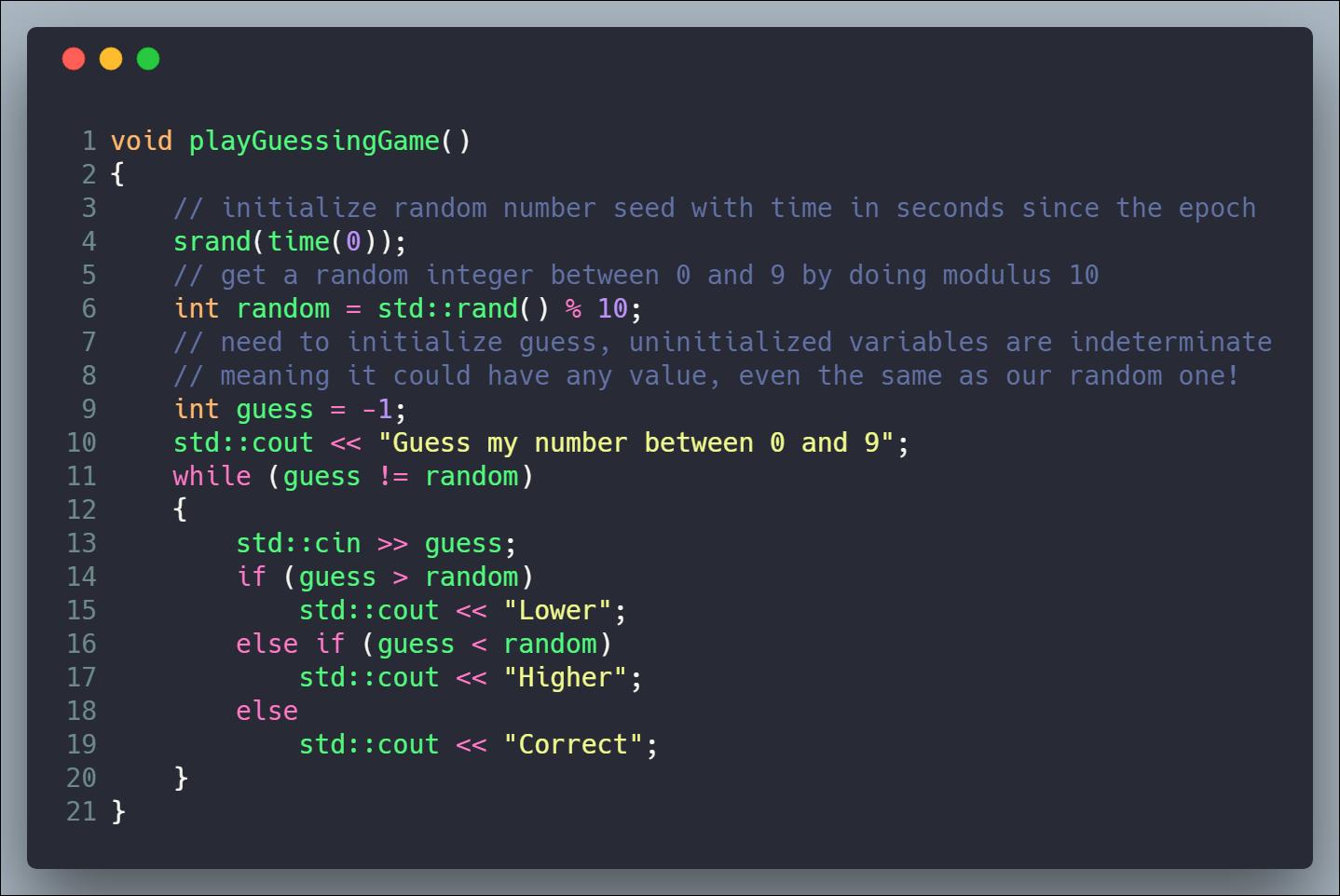 C++ Guide for EOS Development - Basics | cmichel